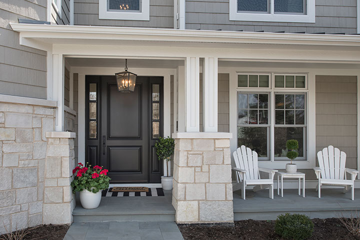 Classic Front Doors with Sidelites