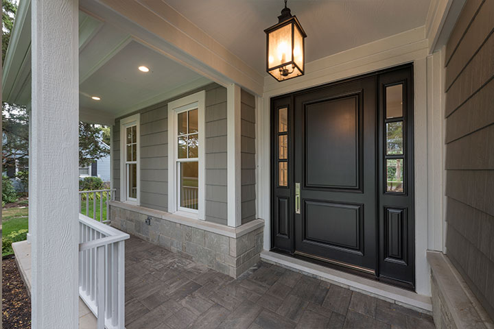 Front Doors with-Sidelites