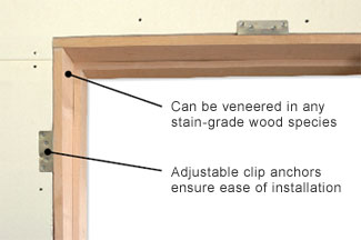 Trustile Paint Grade Mdf Interior Doors In Chicago At Glenview Fire Rated  Jambs Can Be Veneered