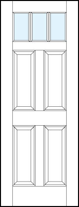Paint Grade MDF Interior Doors