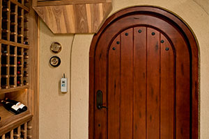 Custom Winecellar Interior Doors