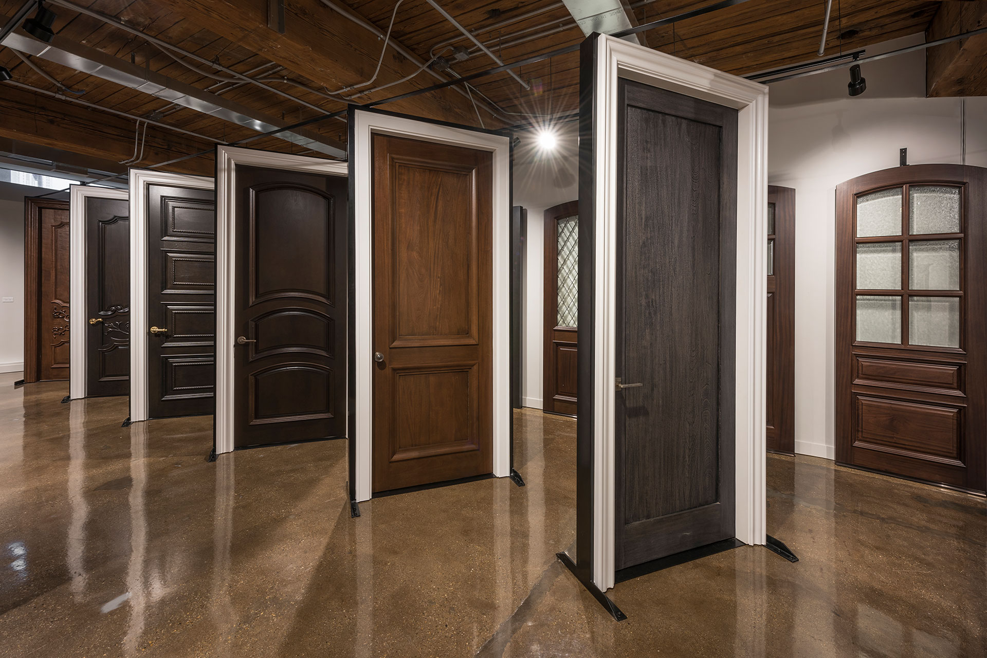 Glenview Haus Showroom Custom Doors And Wine Cellars At