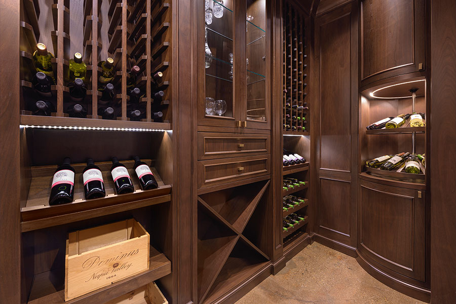 Glenview Haus Chicago Showroom - Wine Cellar