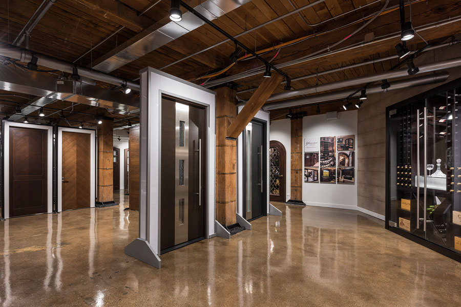 Glenview Haus - Custom Doors and Wine Cellars - Showroom 3