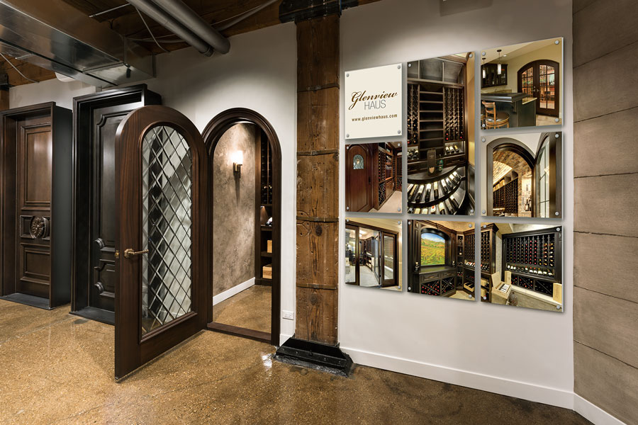 Glenview Haus - Custom Doors and Wine Cellars - Showroom 4