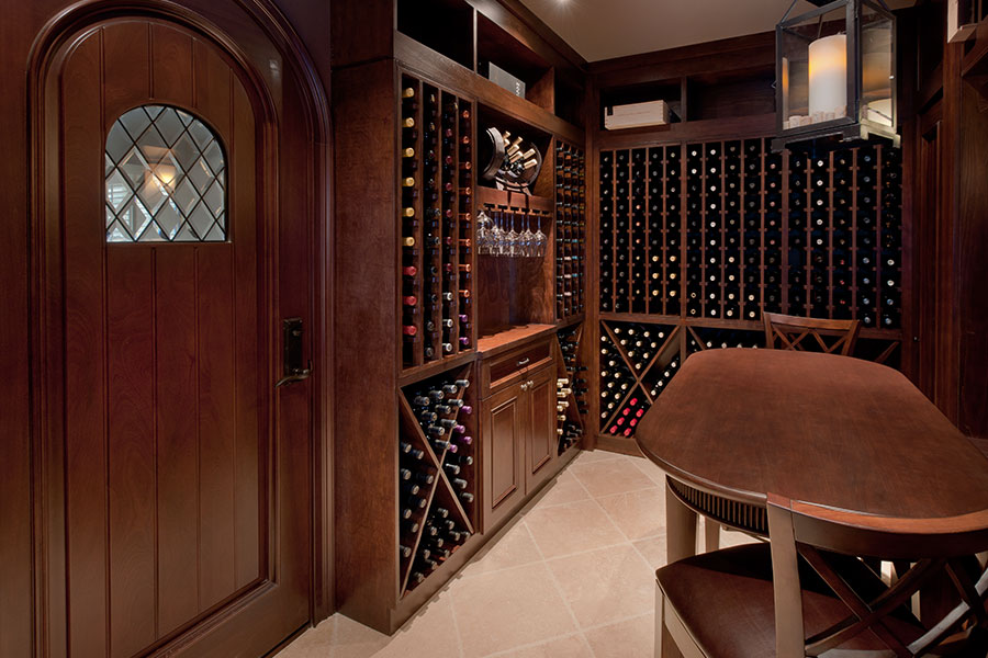 Wine Cellars and Doors - Glenview Haus