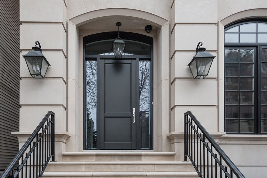 Modern Transitional Front Doors from Glenview Haus