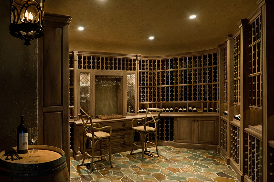 Wine Cellars from Glenview Haus