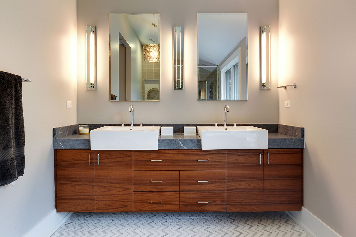 Custom Cabinets At Glenview Haus Chicago Il