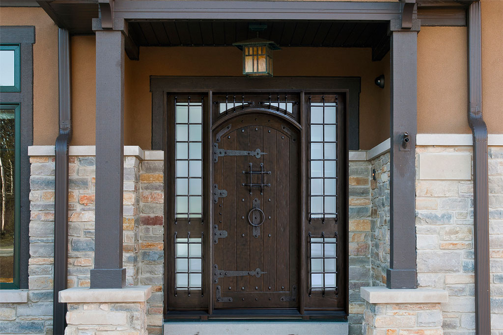 Rustic Doors - Glenview Haus & Custom Rustic Wood Front Doors in Highland Park Illinois - North ...