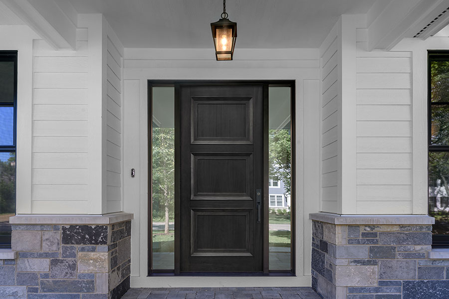 Transitional Doors - Glenview Haus 1