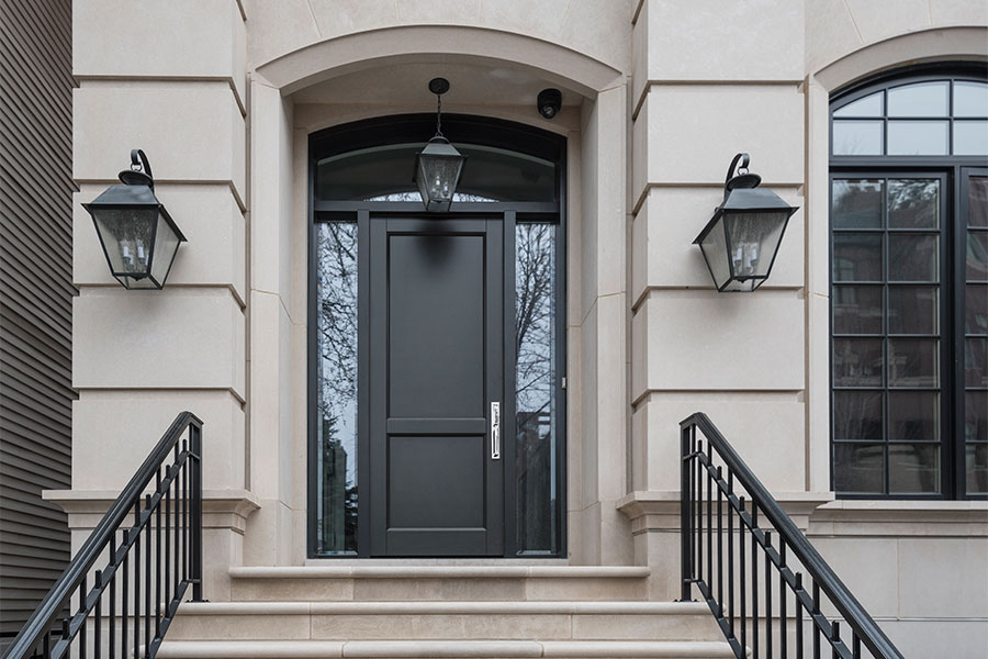 Transitional Doors - Glenview Haus 2