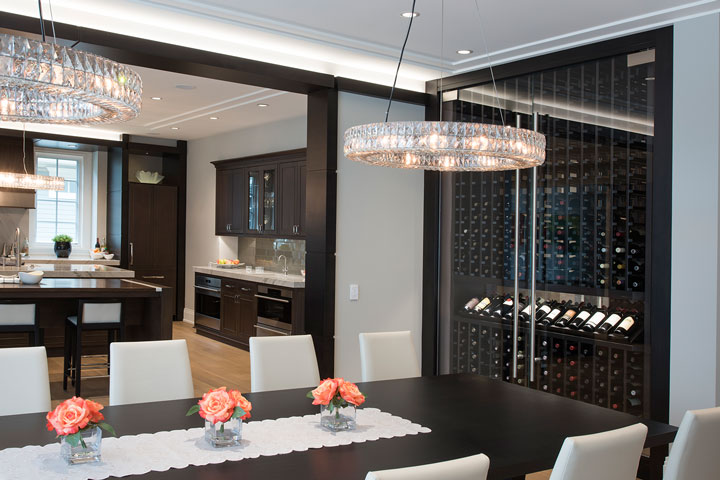 Refrigerated Wine Cabinets - Design and Build