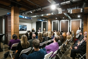Inspiring event with River North Design District at Glenview Haus, March 15, 2017