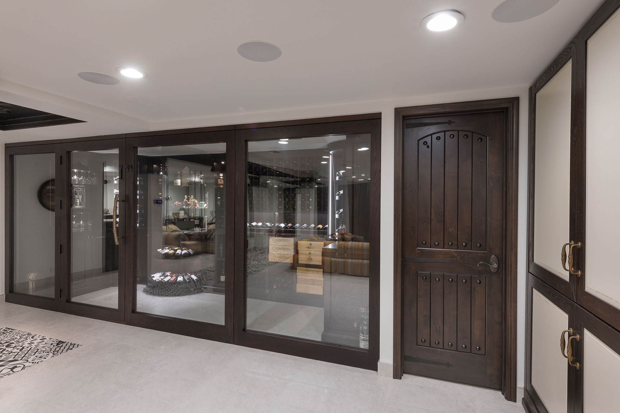 Wine Cellar With Solid Wood Side Door. WC9 15