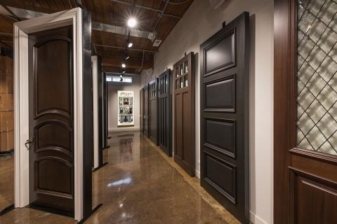 Glenview Haus Custom Doors and Wine Cellars Showroom in Chicago