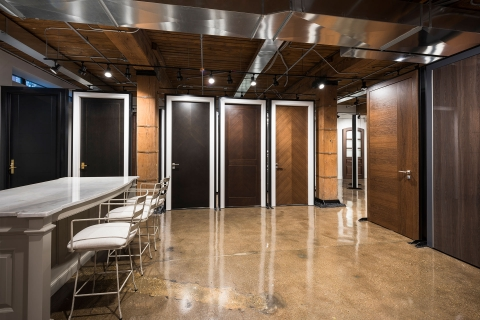 Glenview Haus Custom Doors and Wine Cellars Showroom in Chicago