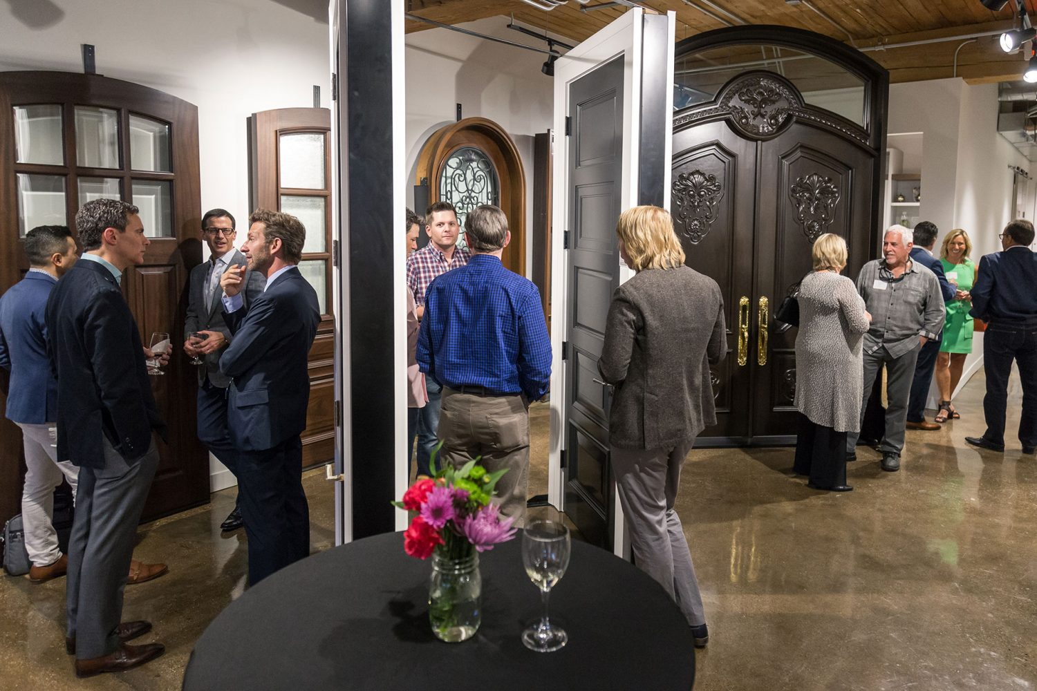 Glenview haus chicago showroom custom doors wine cellars driven by design empowering the next transformation of interior design with president and ceo of trustile doors scott schmid may 18 2017 eventelaan Images