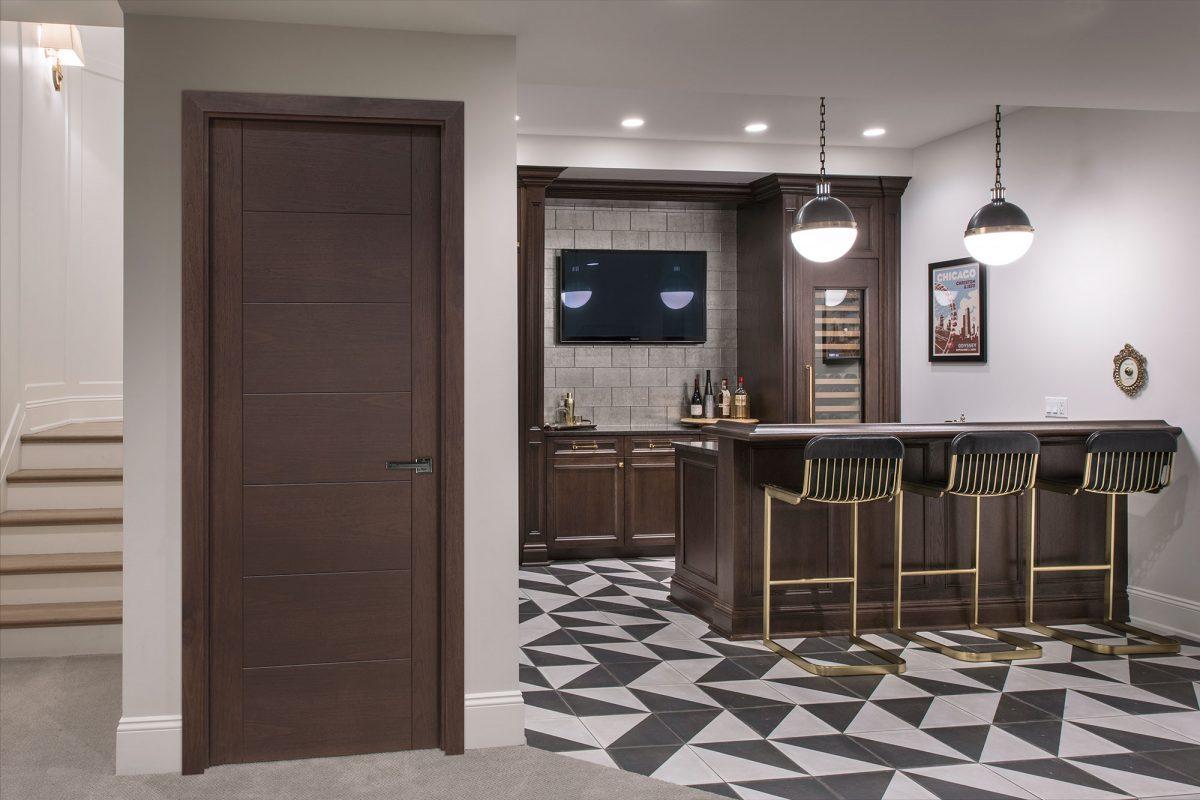 Modern Interior Door in Modern Home