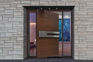 Pivot Door, Custom Front Doors From Glenview Haus