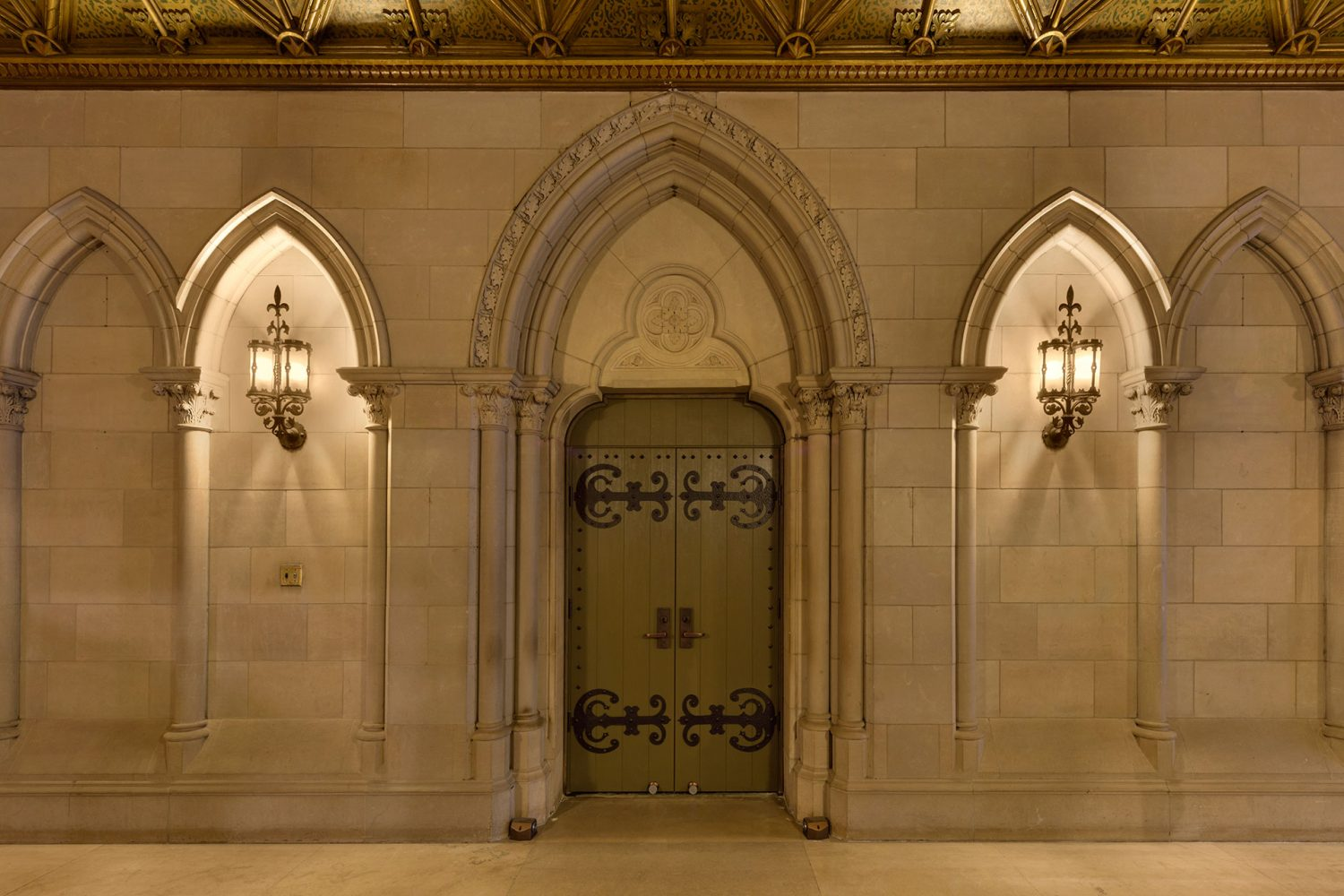 Historical-Renovation-Fire-Rated-Doors-Chicago-Church
