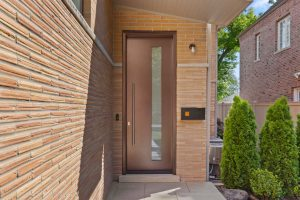Modern Aluminum Clad Entry Door in Wilmette