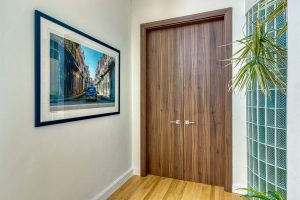 Modern Interior Doors Renovation in Bucktown, Chicago