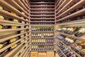 Modern Wine Cellar in Chicago